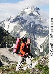 Hike - Man in hike