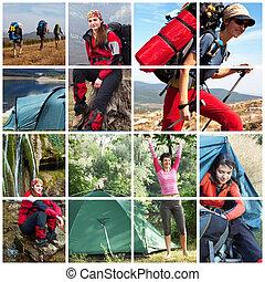 Hike - Woman in hiking