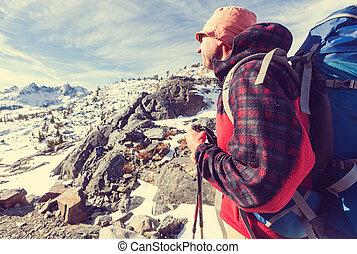 Hiker - Male in hike