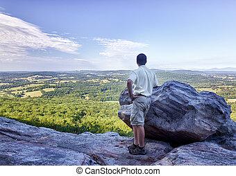 hiker, sênior, negligencia, virgínia