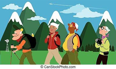 hikers, grupo