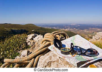 hiking apparecchiatura