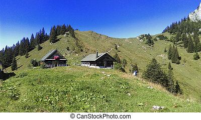 hiking in bavaria near the tegernseer huette