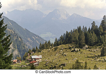 Hiking in the Spronsertal