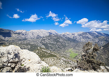 Hiking in the Tramuntana, the mountains of Mallorca