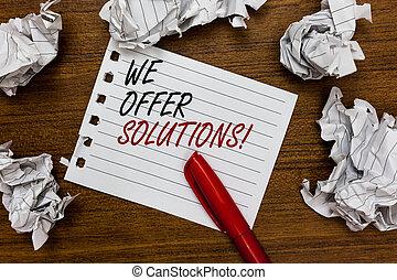 hilfe, foto, zerstreut, papier, experten, markierung, angebot, unterstützung, ideen, schreibende, geschrieben, berührt, begrifflich, weißes, ausstellung, rotes , wir, geschaeftswelt, angebot, rat, hand, solutions., lump., showcasing, strategien, seite