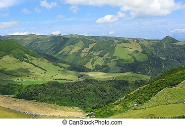 Hills and Mountains in Azores