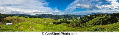 Hills of New Zealand