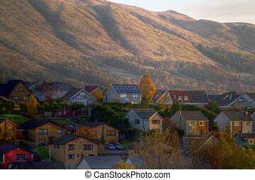 Hillside Village.