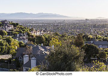 San Fernando Valley in Los Angeles