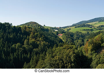 hilly Black Forest scenery