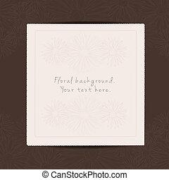 hilsen card, hos, sted, by, din