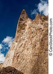 himalaya, alte montagne, paesaggio., india, ladakh