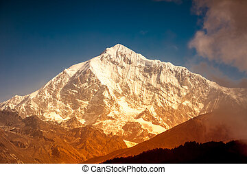 mountain landscape - Himalaya scenic mountain landscape...
