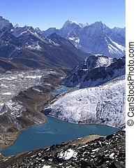 Himalaya Views - View from Gokyo Ri in the Nepalese Himalaya