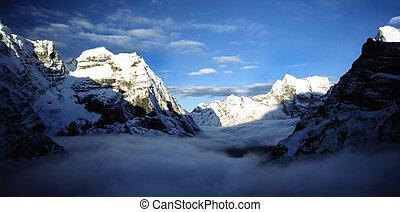 Himalayan Dawn - Dawn high in the Himalaya