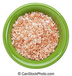 Himalayan salt bowl - Himalayan salt coarse crystals in ...