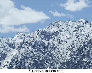 Himalayan snow peak-I