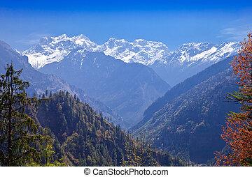 Himalayas landscape, Nepal