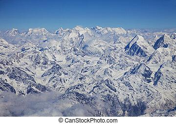 Himalayas, Nepal - Image of the Himalayas Mountain Range, ...