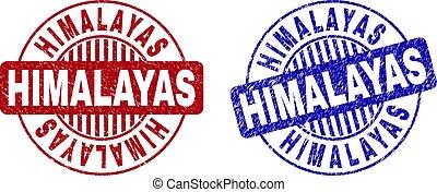 himalayas, wasserzeichen, grunge, runder , textured