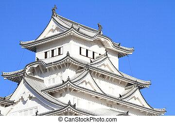 Himeji castle in Himeji, Hyogo, Japan