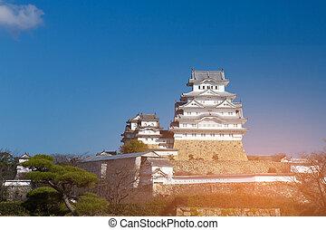 Himeji world heritage castle Osaka Japan landmark