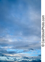 himmel blau