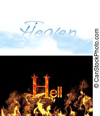 himmel, hell.