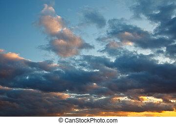 himmel, stormfulde