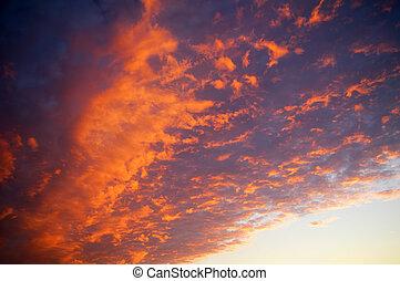 himmelsgewölbe, dramatisch, wolkenhimmel
