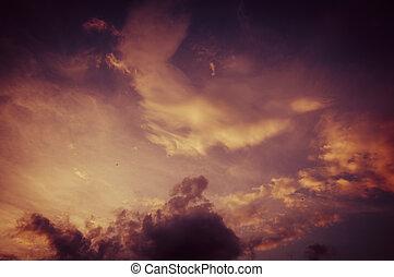 himmelsgewölbe, dunkelheit