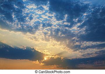 himmlisch, landschaftsbild