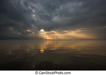 himmlisch, wolkenhimmel, 1