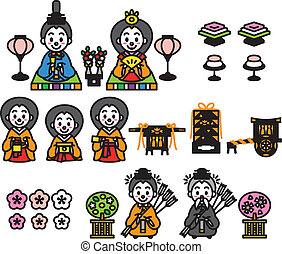 hinamatsuri, japanesdolls', 祝祭