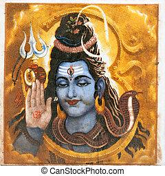 hindoe, deity, shiva
