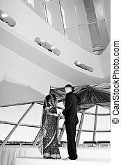 hindu, cerimônia casamento