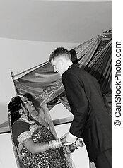 hindu, esküvő ünnepély