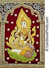 Hindu female goddess