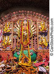 Hindu festival of Durga Puja
