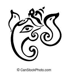 Lord Ganesha. Ganapati