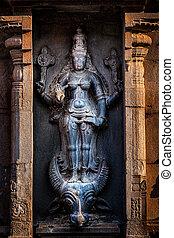 Hindu goddess Durga Mahisaurmardini image