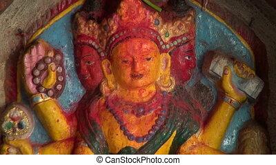hindu hinduism gods in Katmandu - hindu hinduism gods in old...