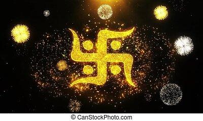 Hindu, holy, indian, religion, swastika, swastika Icon on...