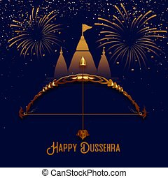 hindu tempel, tilbedelse, dussehra, baggrund, festival, od
