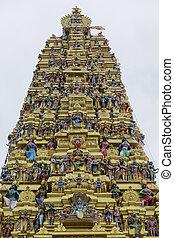 Hindu temple at Matale, Sri Lanka