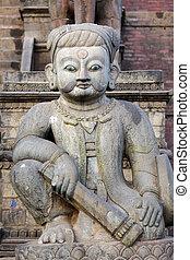 Hindu temple guardian