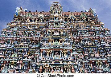 Hindu Temple - Madurai - India