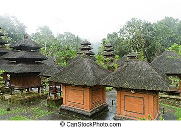 Pura Luhur Batukaru - hindu temple of Pura Luhur Batukaru on...