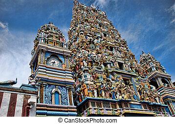 Hindu temple in Colombo - Sril Lanka photo taken in 2011